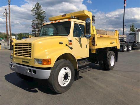 international  dump truck  sale  miles pacific wa