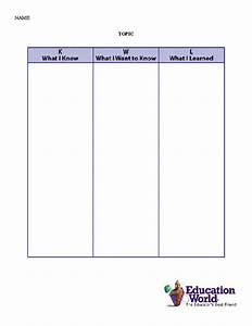 Kwl chart template playbestonlinegames for Kwl chart template word document