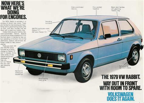 rabbit volkswagen thesamba com vw archives 1979 vw rabbit sales