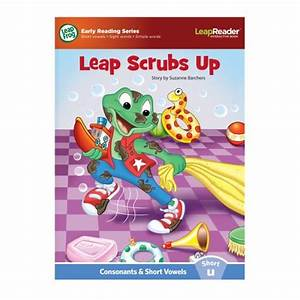 Leapfrog leapreader learn to read volume 1 works with for Leapfrog three letter words