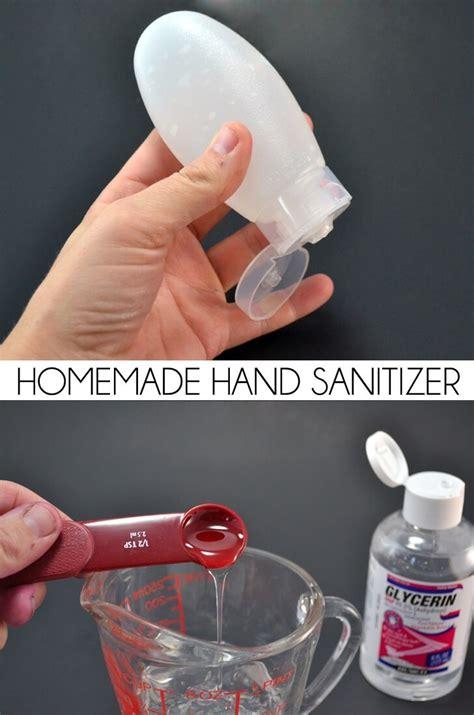 homemade hand sanitizer dream   bigger