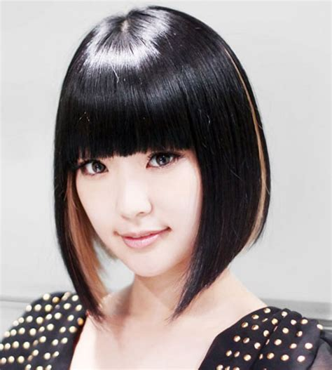 Women's Hairstyles: Asian Hair Color Black Trends 2015