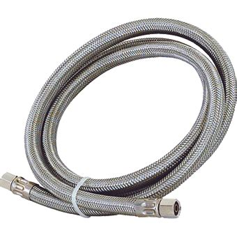 Stainless Steel Braided 120 Inch Refrigerator Water Line