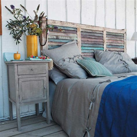 Unique One Of A Kind Headboard You Can Make  Some Place