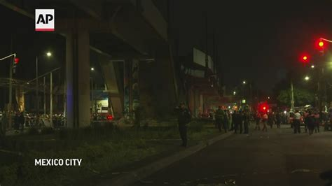 Mexico City train collapse: 24 dead, dozens injured ...