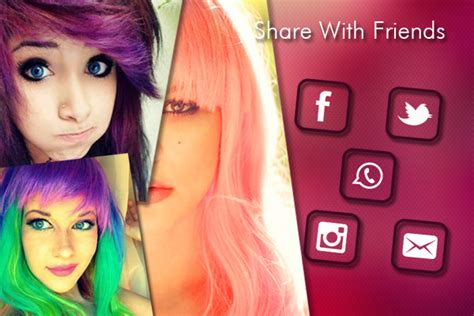 hair color change app change hair and eye color android apps on play