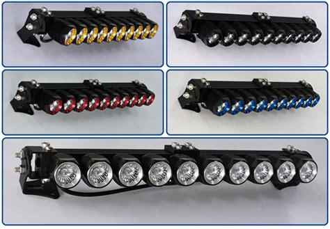 ce rohs diy led light bar single row 24 quot spot flood combo
