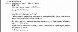 Telekom Rechnung Reklamieren : neue iphone 4 auslieferung wann ~ Themetempest.com Abrechnung