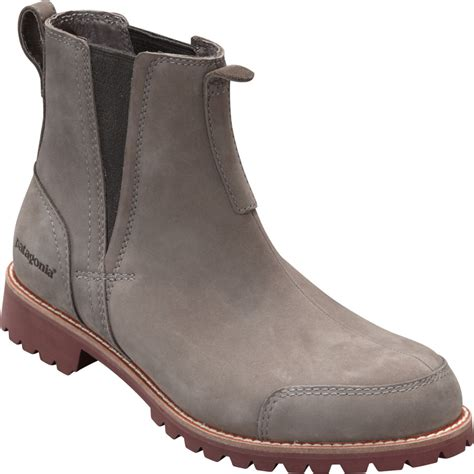 patagonia footwear tin shed chelsea boot men s