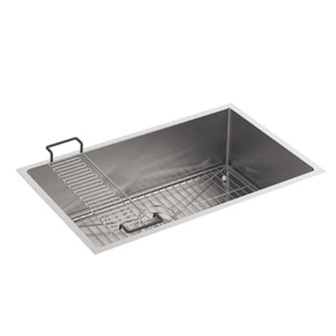 kohler strive sink 29 kohler k 5409 na strive 29 in x 18 5 16 in x 9 5 16 in