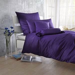 Mako Satin Bettwäsche : bettwarenshop uni mako satin bettw sche violetta g nstig online kaufen bei bettwaren shop ~ Whattoseeinmadrid.com Haus und Dekorationen