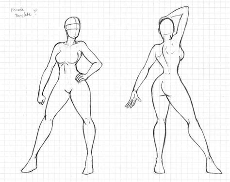 how to draw a male body outline