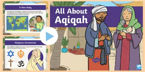* New * Ks1 All About Aqiqah Powerpoint  Islam, Birth