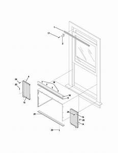 Kenmore 25373055300 Room Air Conditioner Parts