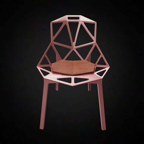 3d Magis Chair One  High Quality 3d Models