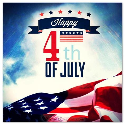 Happy 4th of July Messages and Independence Day Greetings ...