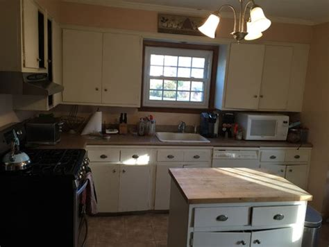cabinets kitchen cost before after 1935 kit home kitchen remodel rta cabinets 1944