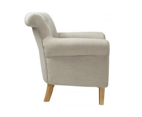 steeler light grey upholstered club chair uk delivery