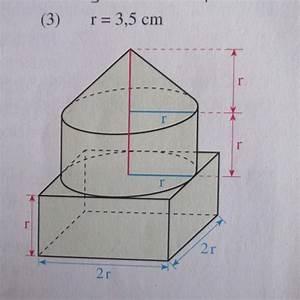 Kegel Volumen Berechnen : zusammengesetzte k rper berechnen mathelounge ~ Themetempest.com Abrechnung