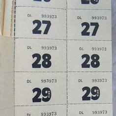 Sideboard Tickets by Raffle Sideboard Tickets Misc Raffle