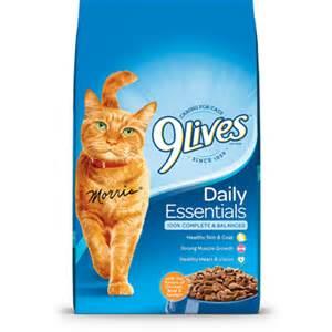9 lives cat food 9lives daily essentials 174 9lives 174 cat food
