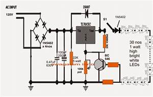 110v Compact Led Tubelight Circuit