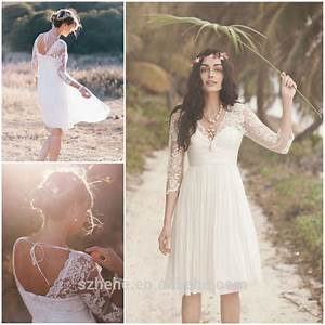 Casual lace wedding dress wedding dresses wedding ideas for Casual lace wedding dress