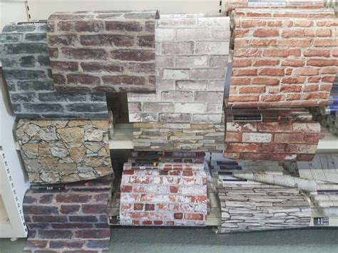 brick effect wallpaperfeature wall cheap bargain  sale
