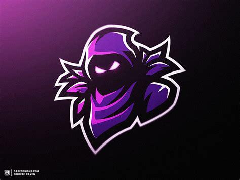 Fortnite Raven Mascot Logo By Derrick Stratton