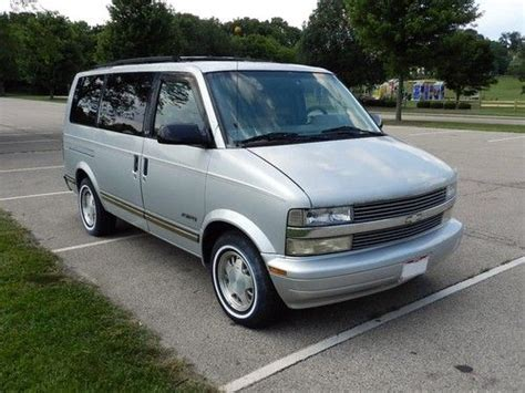 auto air conditioning service 1995 chevrolet astro electronic valve timing find used 1995 chevrolet astro van clean ready to drive with rear air conditioning in bellbrook