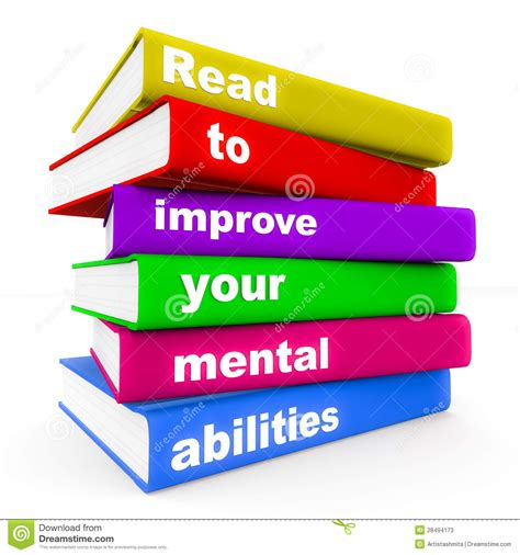 Read To Improve Mental Ability Stock Illustration  Image 28494173