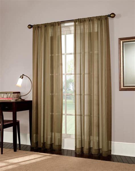 mystic stripe semi sheer curtain panel curtainworks