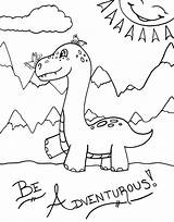 Dinosaur Coloring Pages Smile Hide Don sketch template