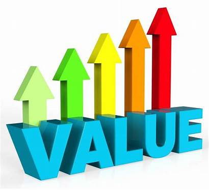 Value Increase Drivers Worth Business Valuable Clipart