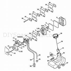 Stihl Fs 85 Brushcutter  Fs85r  Parts Diagram  Air Filter