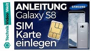 Sim Karte Datenvolumen : galaxy s8 sim karte einsetzen youtube ~ Kayakingforconservation.com Haus und Dekorationen
