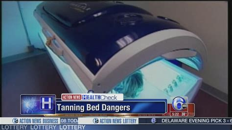 tanning bed dangers study points out the dangers of tanning beds 6abc