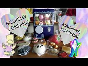 SQUISHY VENDING MACHINE TUTORIAL l INFINITY GIRLS - YouTube
