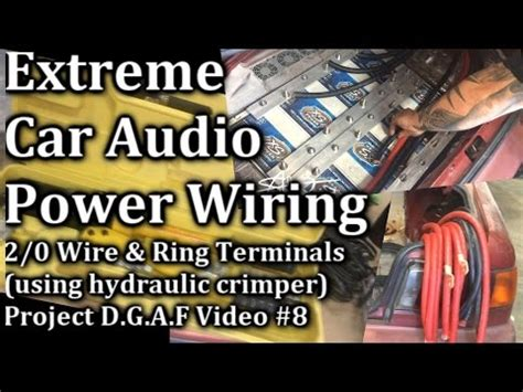 Extreme Car Audio Wiring Wire Ring Terminals
