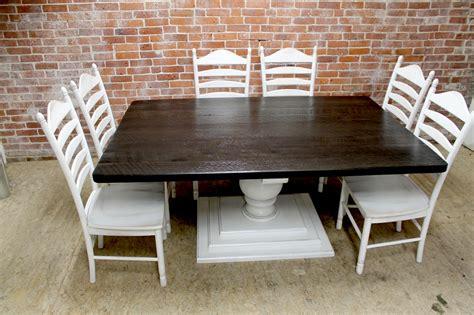 large square farm table ecustomfinishes