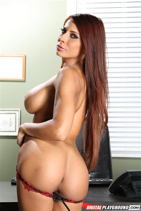 Busty Madison Ivy Stripping In Her Office Photos Keiran