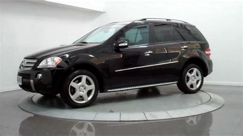 The ml320 cdi is notably frugal as well as luxurious, while the ml550 adds more luxury and power, and the ml63 amg leads the pack in exclusivity. 2008 Mercedes-Benz ML550 4Matic AMG Sport - YouTube