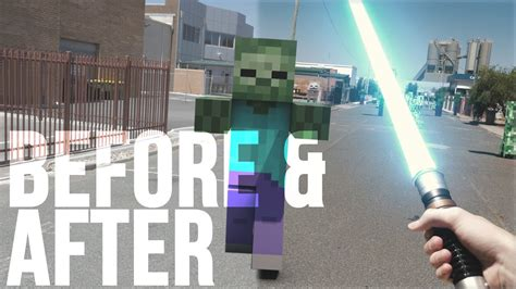 Minecraft In Real Life With Mods
