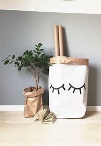 Sac En Papier Deco : sacs en papier tellkiddo delightson ~ Teatrodelosmanantiales.com Idées de Décoration