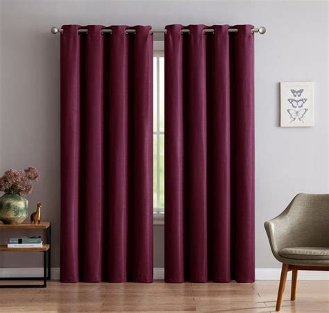warm home designs  panel  extra thick premium burgundy