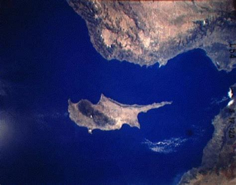North Cyprus from Space - Satellite Photographs