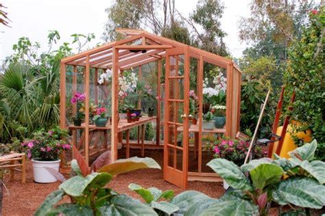 wood greenhouse plans diy   build diy