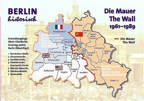 private trade berlin wall map very nice map of