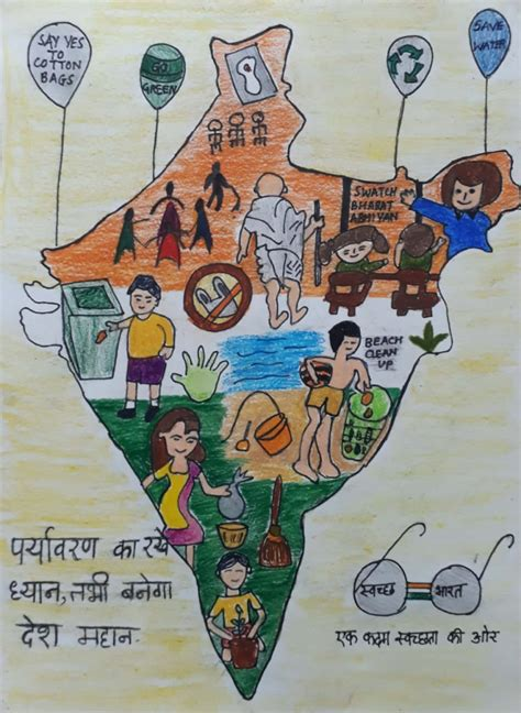 swachh bharat abhiyan poster making competition