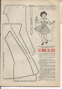 687 best anciennes revues et poupees unica images on With patron robe poupee barbie